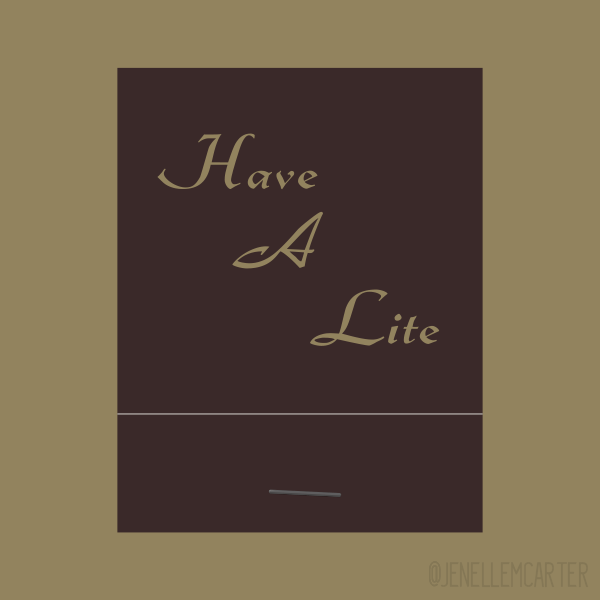 Have A Lite Matchbook Cover