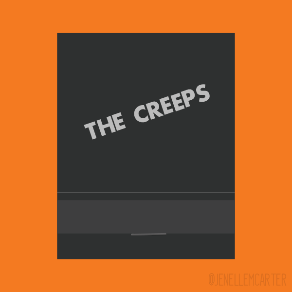 The Creeps Matchbook Cover