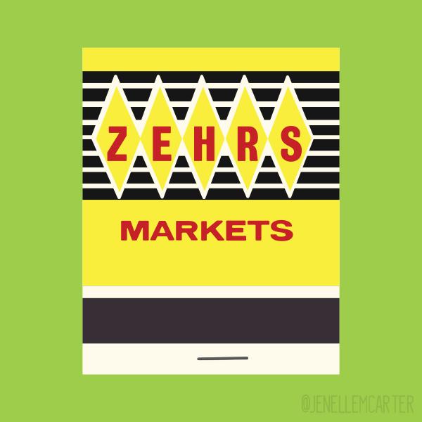 Zehrs Markets Matchbook Cover