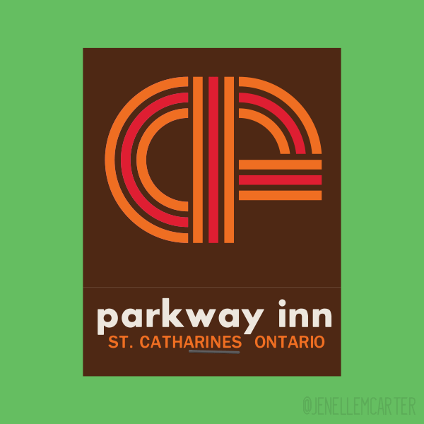 Parkway Inn Matchbook Cover