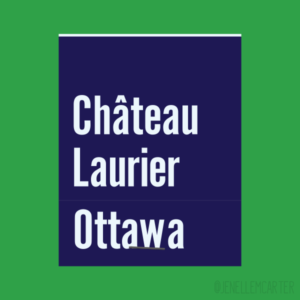 Chateau Laurier Ottawa Matchbook Cover