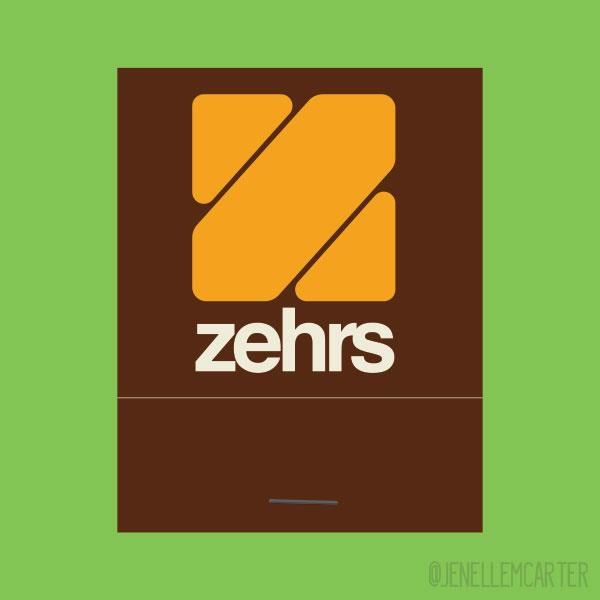 Zehrs Matchbook Cover