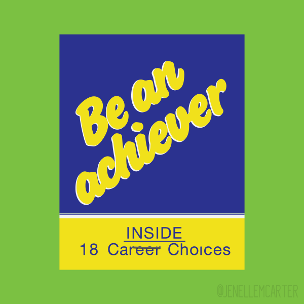 Be An Achiever Matchbook Cover