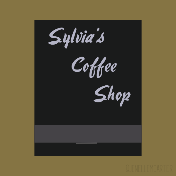 Sylvia's Coffee Shop Matchbook Cover