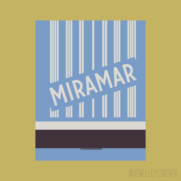 Miramar Matchbook Cover