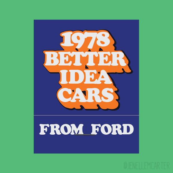 Ford 1978 Matchbook Cover